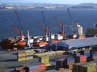 port in Chile